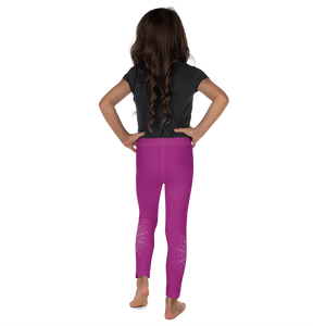 Fuschia Kid's Leggings