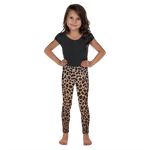Leopard Print Leggings for Girls