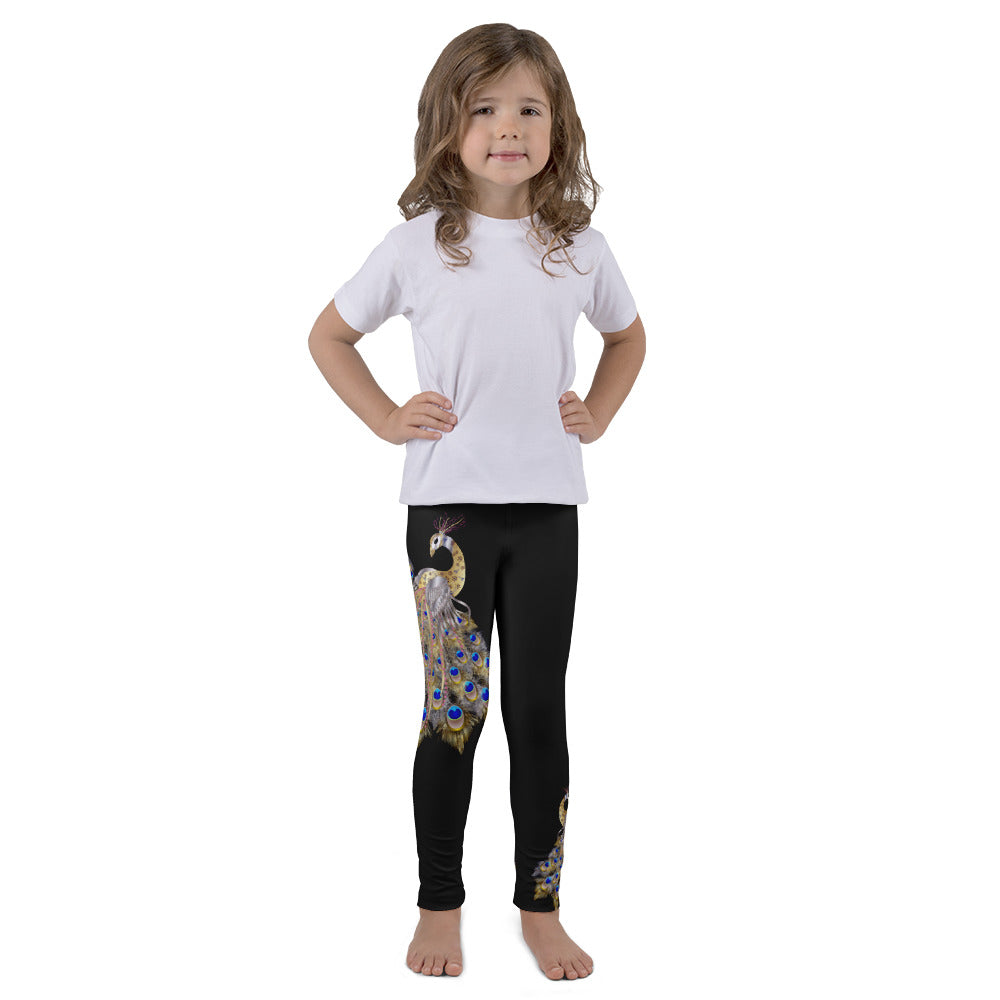 Mayuarasana Yoga Leggings for Girls
