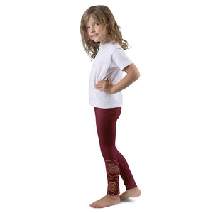 Shakti Henna (Red) Leggings for Girls