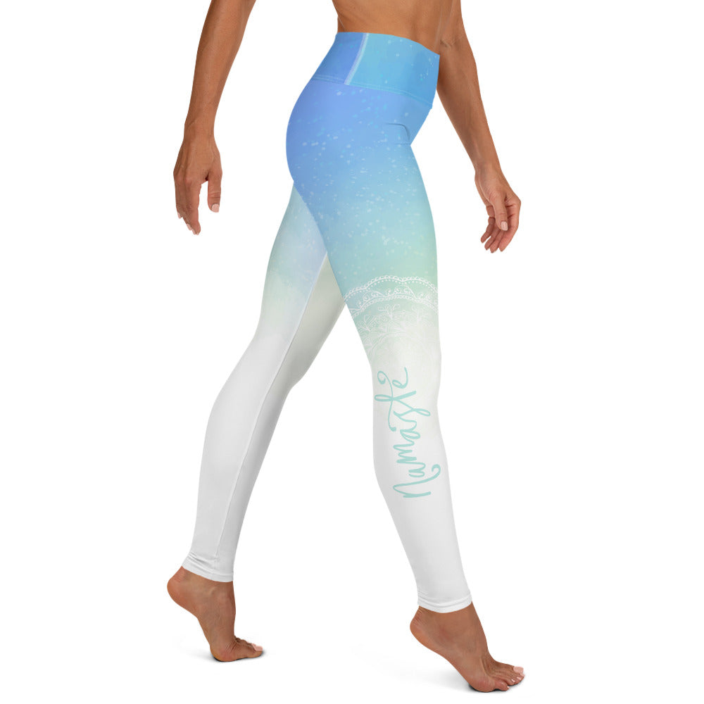 Namaste Mandala High Waist Womens Yoga Leggings