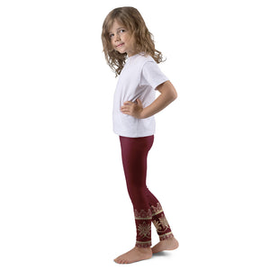 Prana Red Leggings for Girls