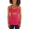 Shine On Women's Racerback Tank Top