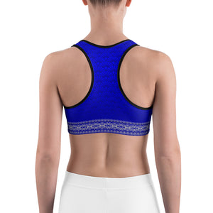 Satya (Blue) Sports bra