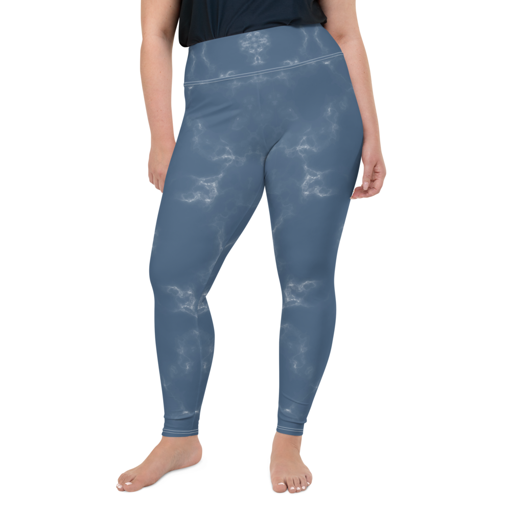 Plus Size All-Over Cloud9 Womens Yoga Leggings