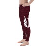 Red Dragon Scale Men's Leggings