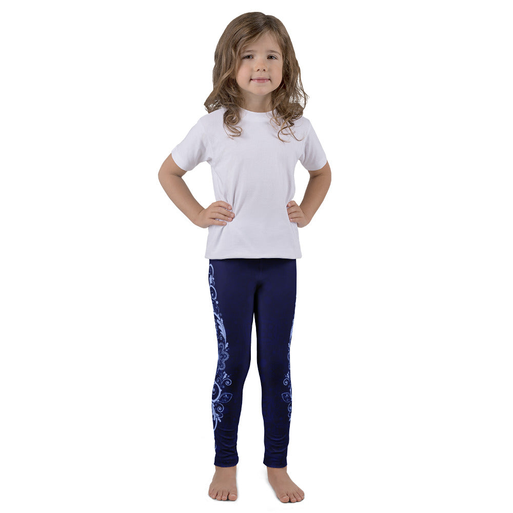 Nirvana (Blue) Leggings for Girls