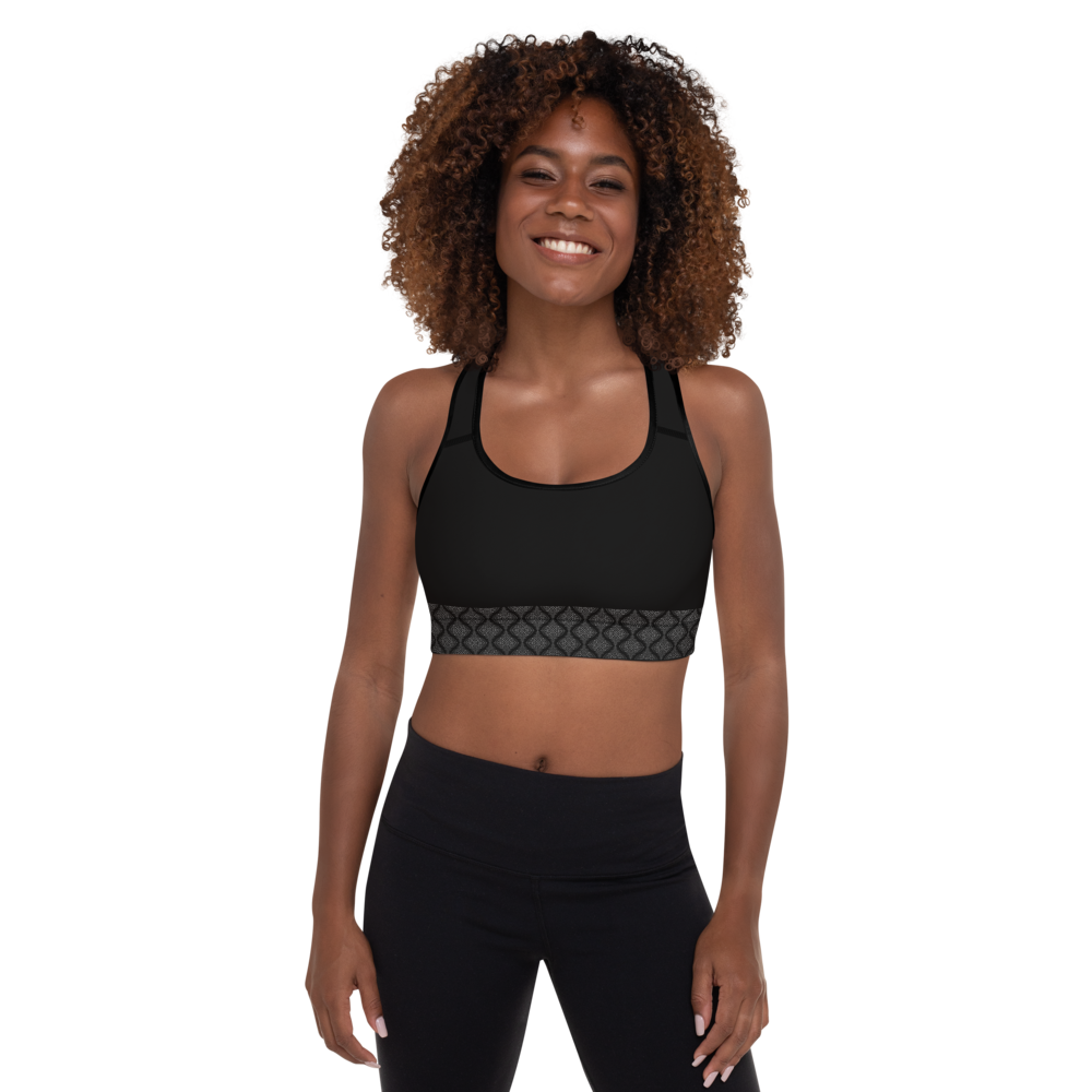 Ahimsa Silver Padded Sports Bra