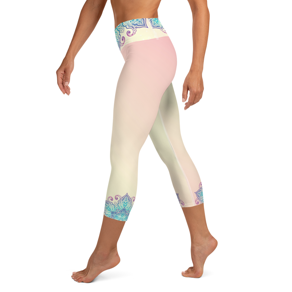 Prajna High Waist Women's Yoga Capri Leggings