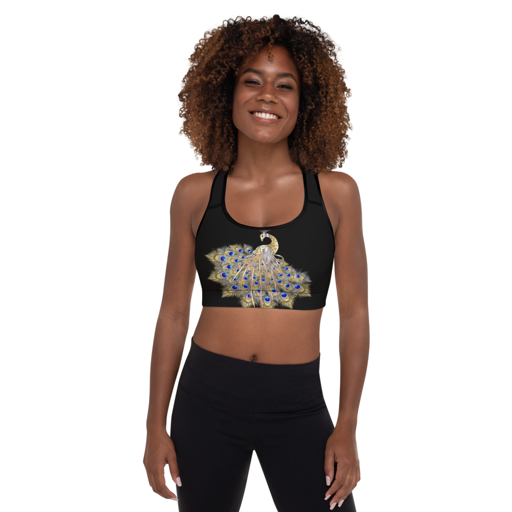 Mayurasana Padded Sports Bra