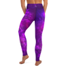 Purple Passion High Waist Womens Yoga Leggings