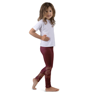 Shakti Original Henna Art (Red) Leggings for Girls