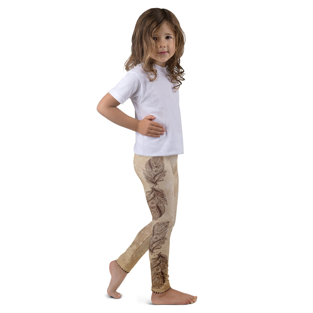 Vidya Brown Leggings for Girls