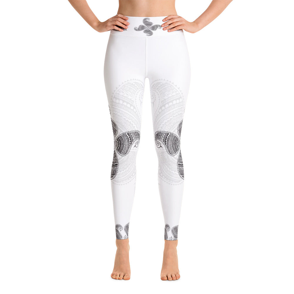 Nadi Original Henna High Waist Womens Yoga Leggings