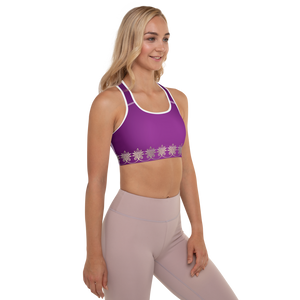 Prana Purple Padded Sports Bra
