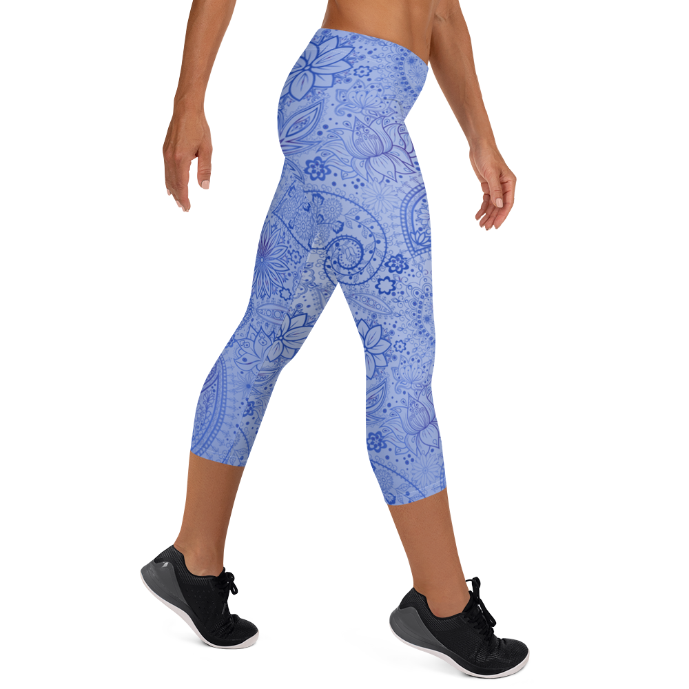 Mandala Women's Capri Leggings