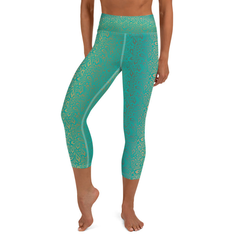Surya Womens Yoga Capri Leggings