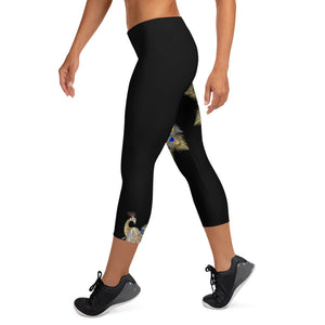 Mayurasana Womens Capri Leggings