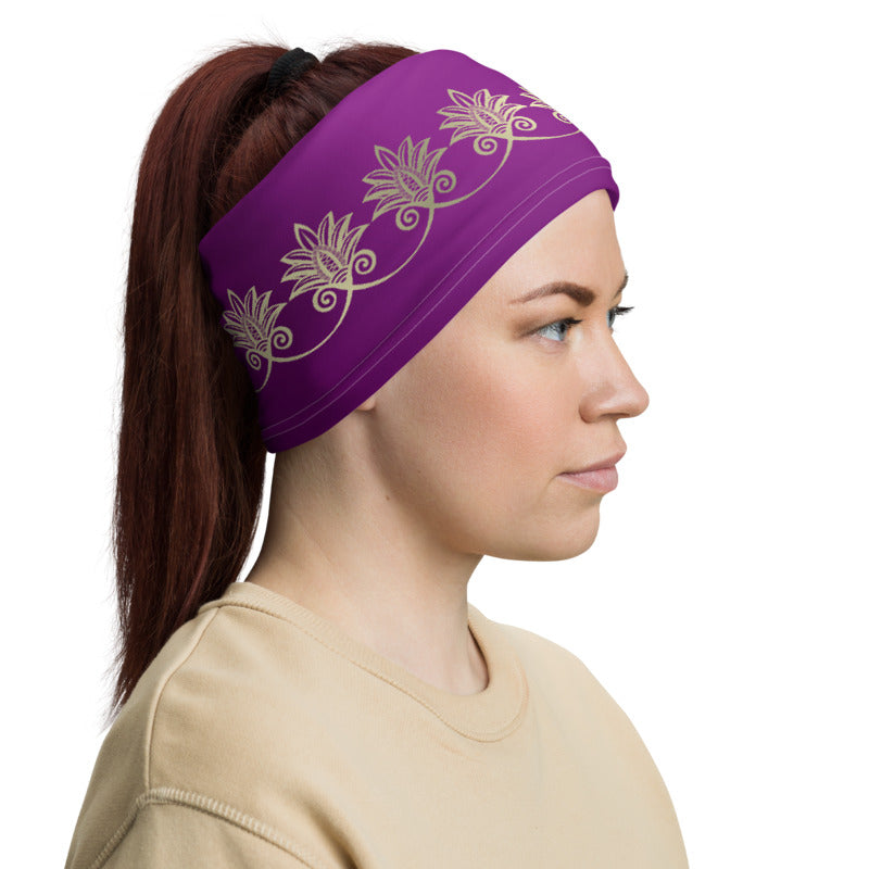 Neck Gaiter - Purple Prana