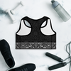 Nirvana Black Padded Sports Bra