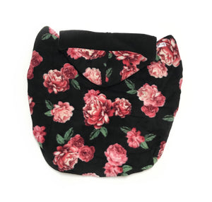 Fleece Lovey Cover- Pink Roses
