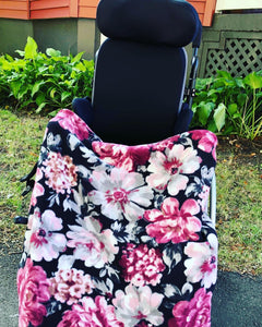 Wheelchair Lovey Cover- CUSTOM ORDER