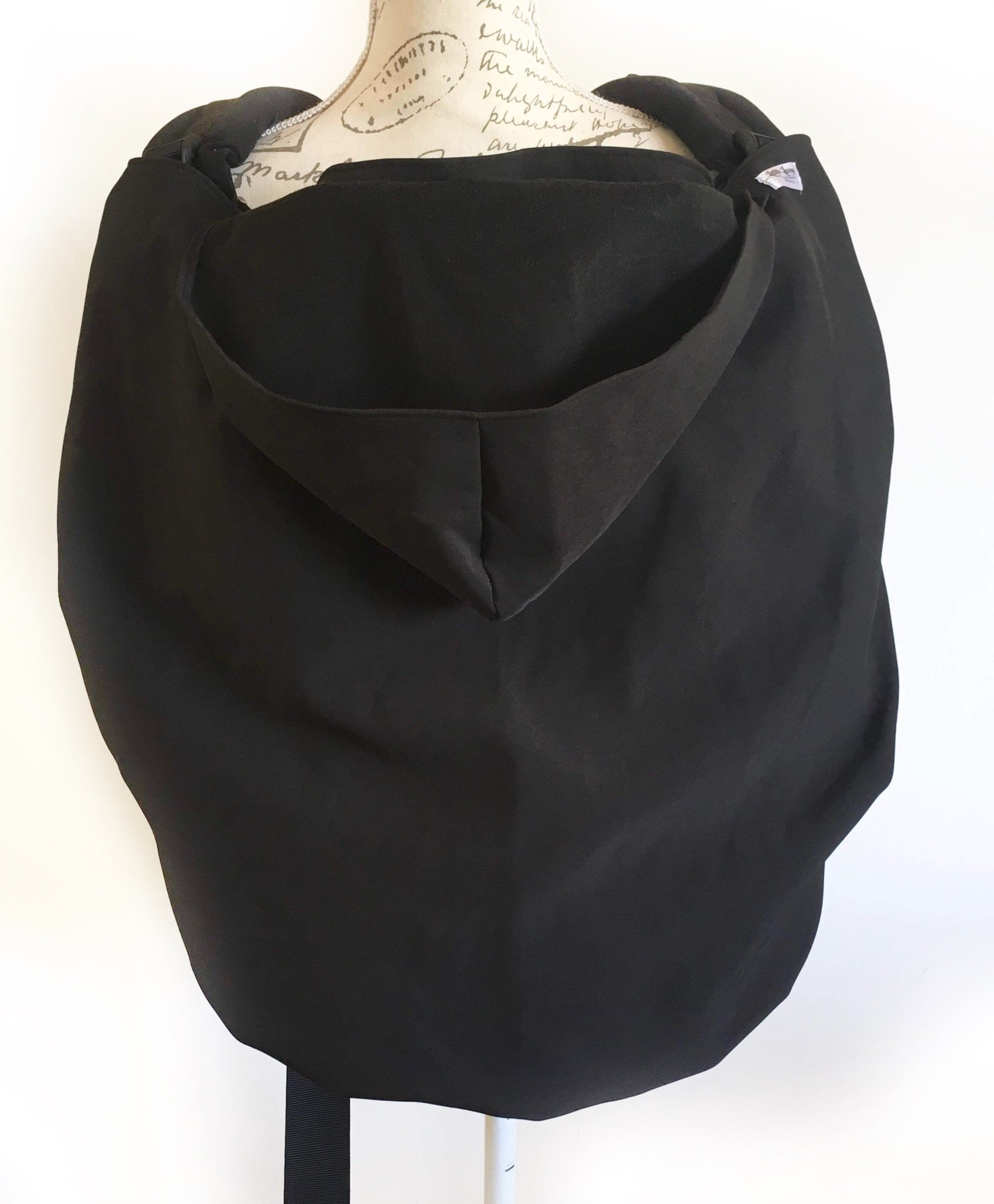 Softshell Lovey Cover- Black