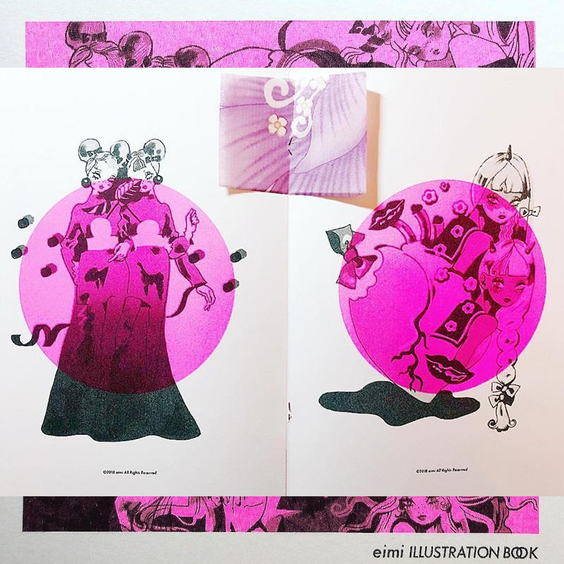 Illustration ZINE「PINK」
