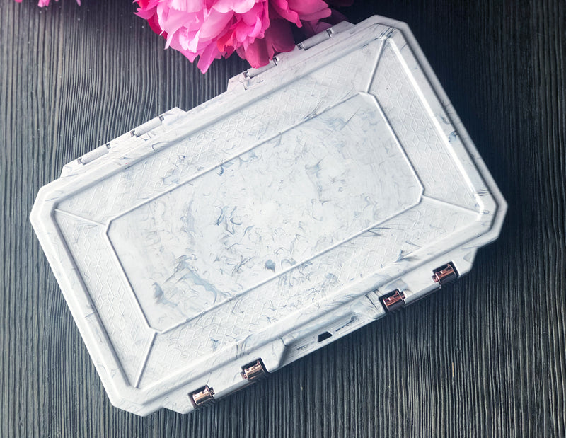 Marble Travel Box - Medium