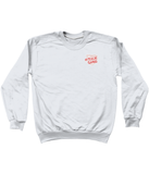 Peach Gang Oversized Drop Shoulder Sweatshirt