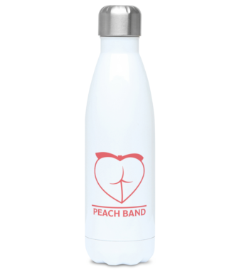 Peach Band logo 500ml Water Bottle