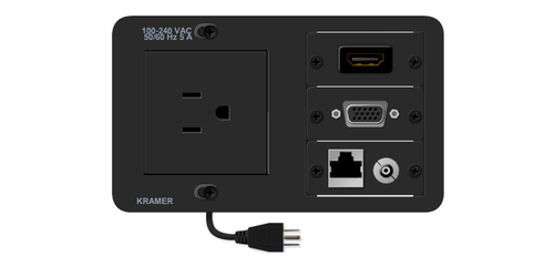 TBUS-5xl-TBK1 Compact Table Well - HDMI, VGA, Ethernet