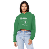 SMF D-Town Girl TX World Cropped Hoodie