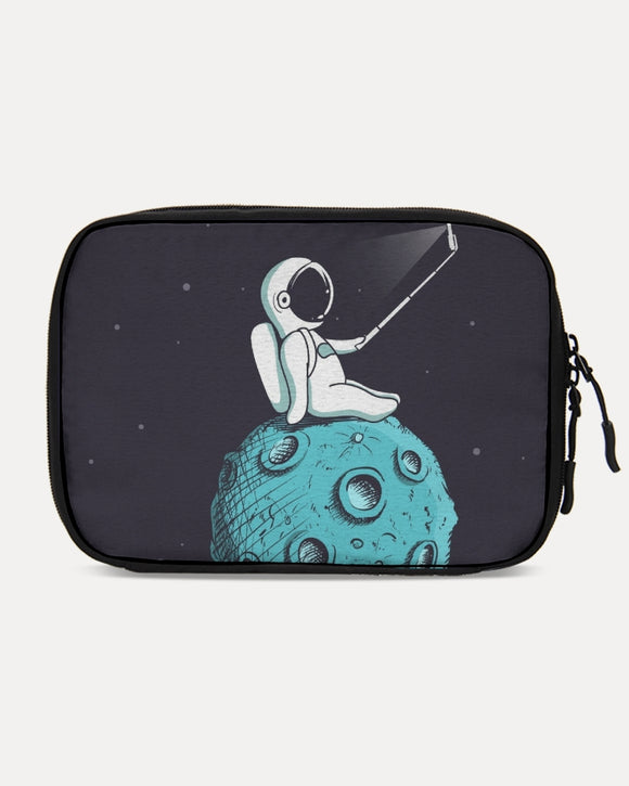 SMF Selfie On The Moon Large Travel Organizer