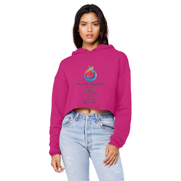 SMF Fire Gang Unisex Cropped Hoodie