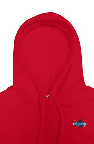 SMF Xaddy Sport Red Hoodie