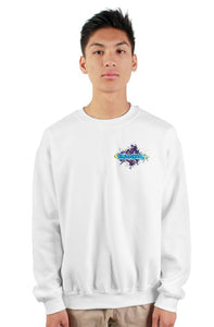 SMF Xaddy Crew White Sweatshirt