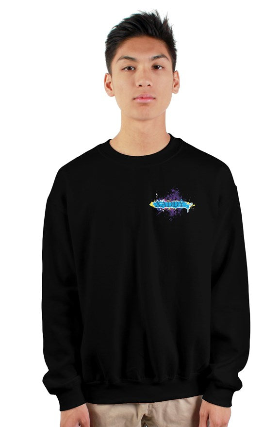 SMF Xaddy Crew Black Sweatshirt