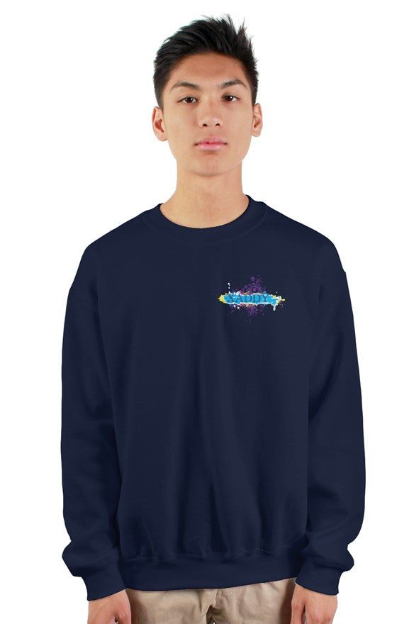 SMF Xaddy Crew Navy Sweatshirt