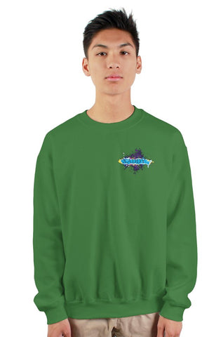 SMF Xaddy Green Crew Sweatshirt