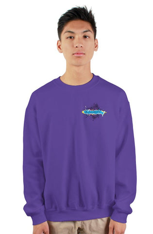 SMF Xaddy Purple Crew Sweatshirt