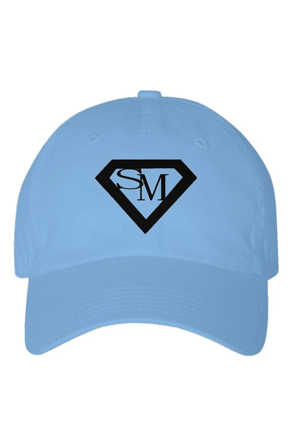 SMF Baby Blue Youth Dad Hat