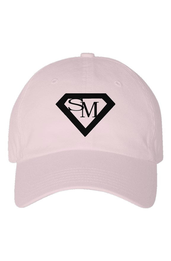 SMF Light Pink Youth Dad Hat