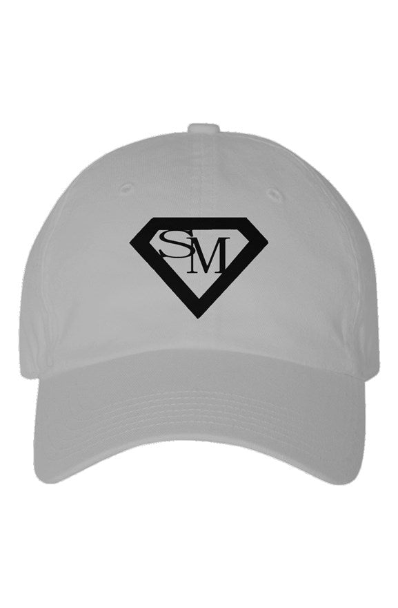 SMF Grey Youth Dad Hat