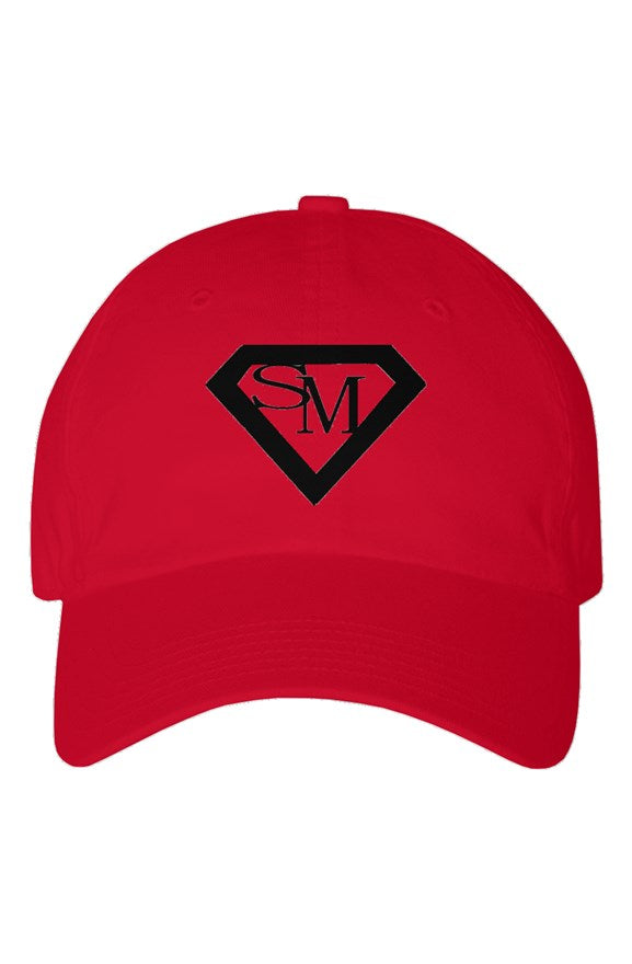 SMF Red Youth Dad Hat