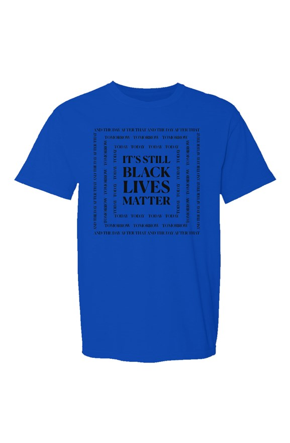 SMF Black Lives Blue Crew T-Shirt