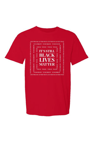 SMF Black Lives Red Crew T-Shirt