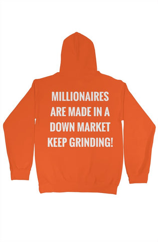 SM Fashion Orange Millionaires Hoodie