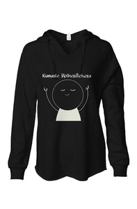 SM Fashion Black Namaste Pullover