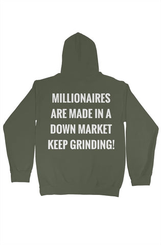 SMF Green Millionaires Sports Hoodie
